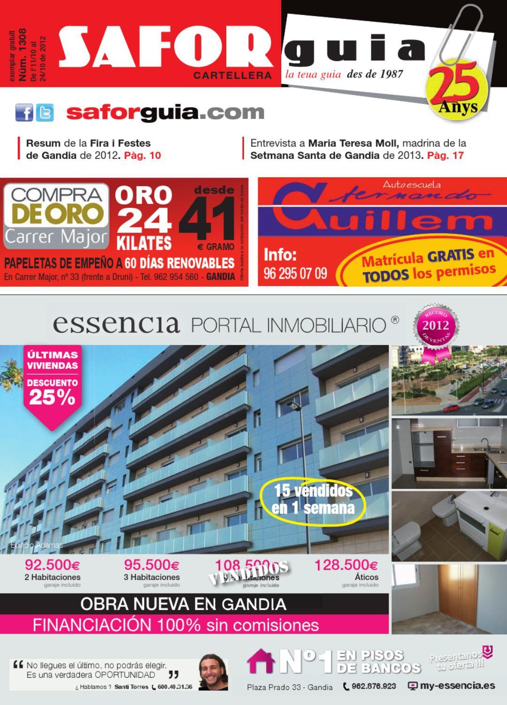 Edici De L 11 Al 24 D Octubre De 2012 By Saforguia Mediaserviocio  # Muebles Peiro Quart De Poblet