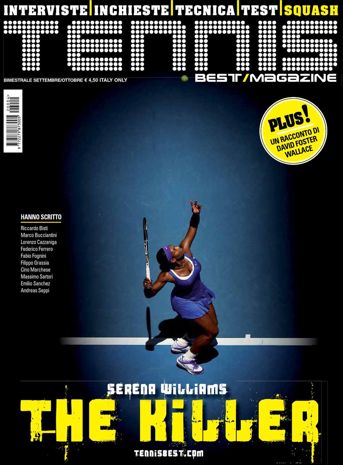 official photos 3fe4f 176a4 TennisBestMagazine n.4 by XM MANAGEMENT - issuu