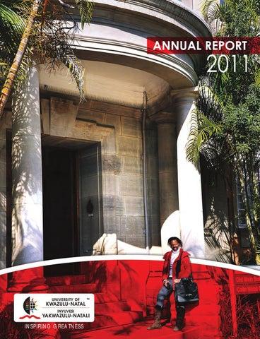Ukzn Annual Report 2011 By Nitesh Ramsaroop Issuu