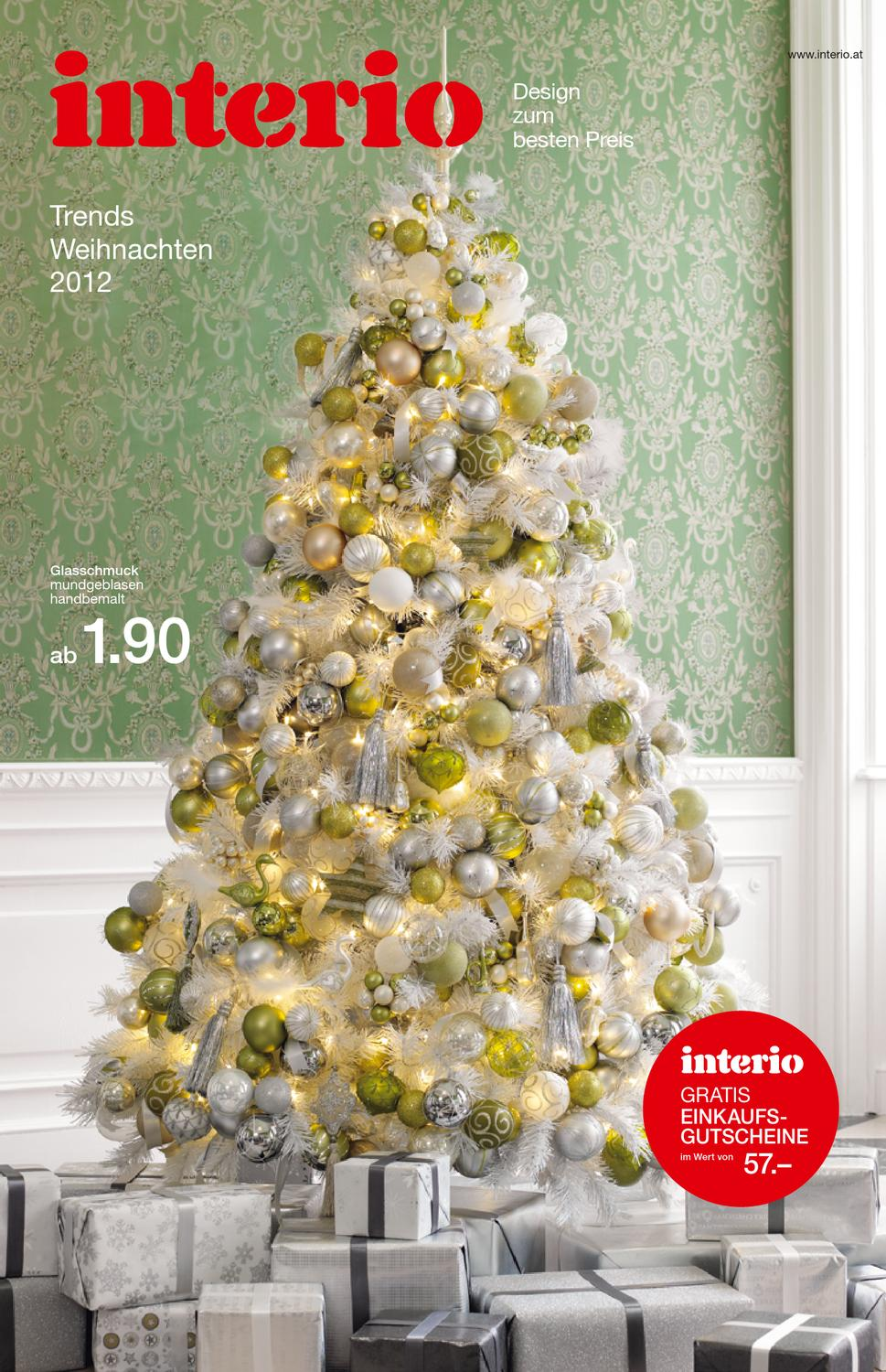 interio weihnachtsfolder 2012 by interio oesterreich issuu. Black Bedroom Furniture Sets. Home Design Ideas
