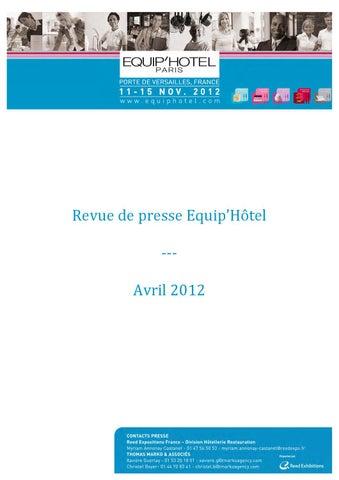 Expositions avril de by Presse Reed Revue 2012 issuu FK1JTlc