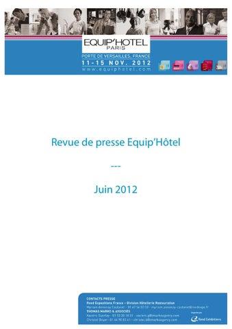 De By Mai 2012 Issuu Revue Reed Expositions Presse Juin iuOkXPZ