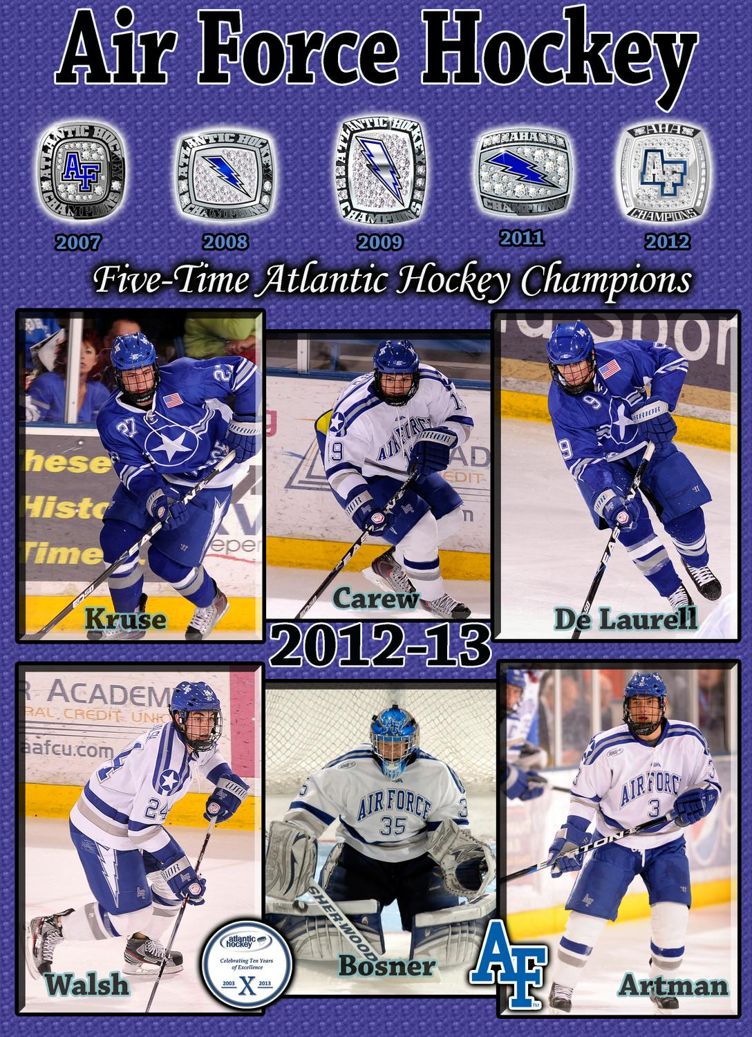 24968f75c15 2012-13 Air Force Hockey Media Guide by Dave Toller - issuu