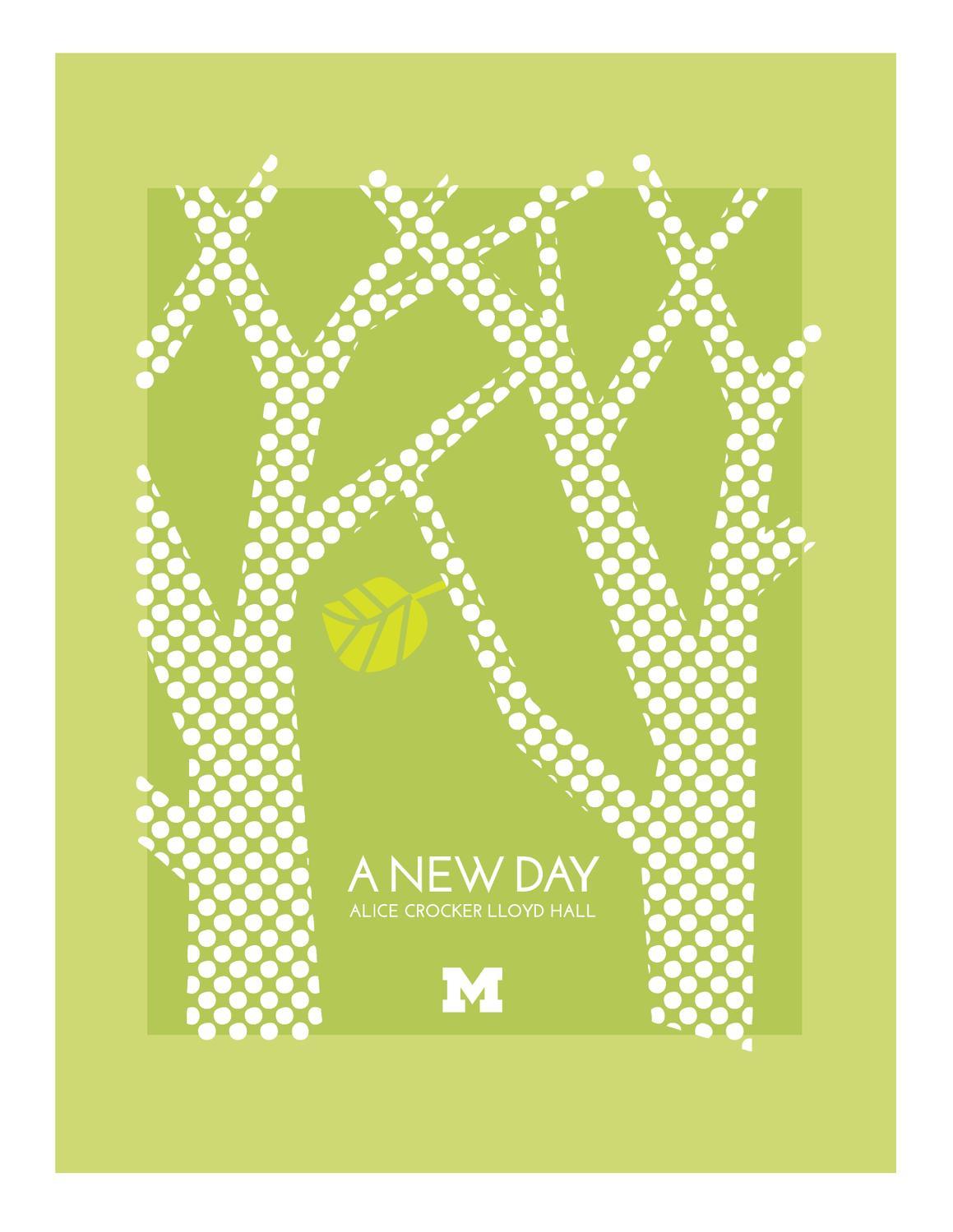 Alice Crocker Lloyd Hall Tour Brochure By University Of Michigan Housing Issuu