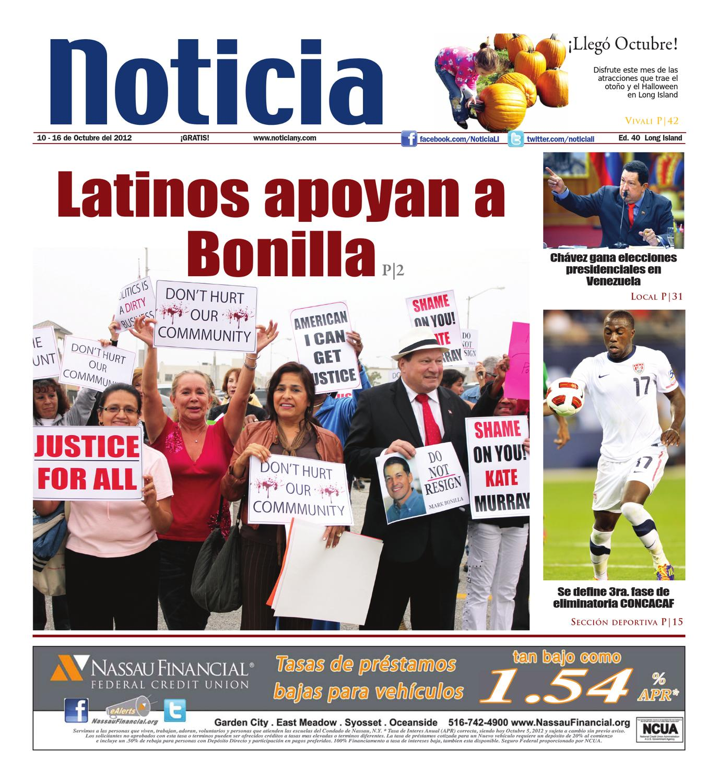 10-10-12 Ed.40 by Noticia - issuu