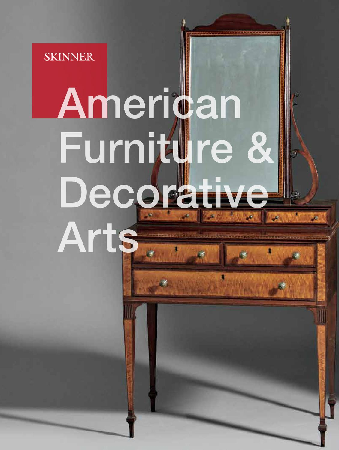 american furniture u0026 decorative arts skinner auction 2618b by skinner inc issuu
