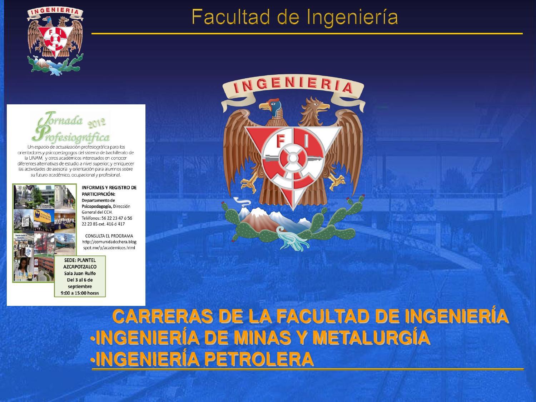 Ingeniería en Minas y Metalurgia e Ingeniería Petrolera by Ma. Elena ...