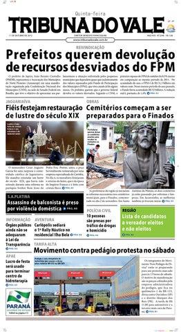 TRIBUNA DO VALE EDIÇÃO Nº 2248 by Tribuna do Vale - issuu 0a8fd5c6f24