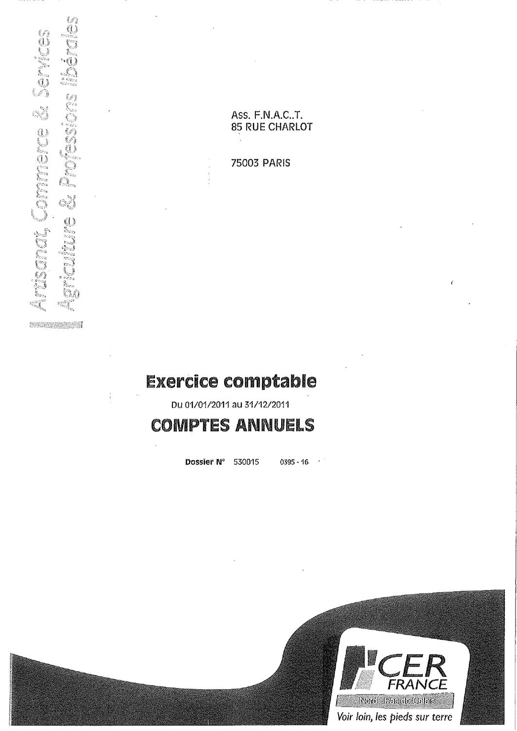 exercice comptable fnactcftc 2011 by fnact cftc issuu