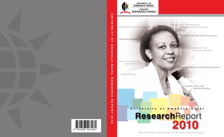 UKZN Research Report 2010 by Nitesh Ramsaroop - issuu