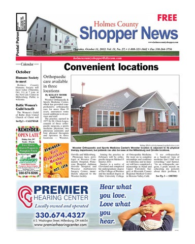Holmes county shopper oct 11 2012 by gatehouse media neo issuu page 1 fandeluxe Choice Image