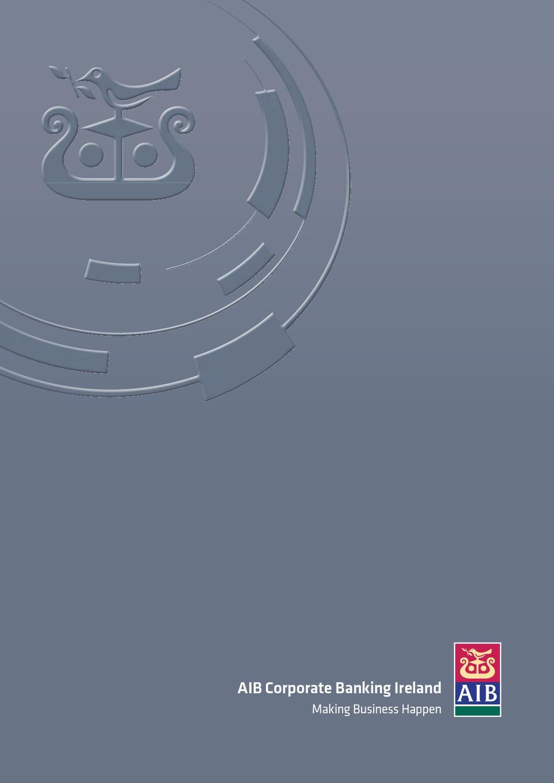 AIB Corporate Banking Ireland Brochure 2012 by AIB - issuu