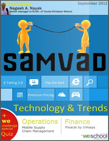 Samvad September 2012 Issue