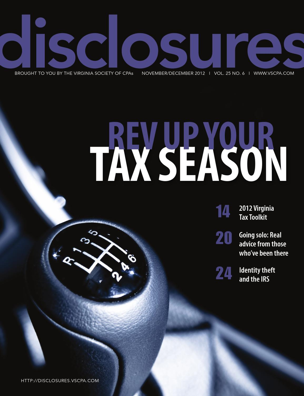 Disclosures Nov/Dec 2012 by The Warren Group - issuu