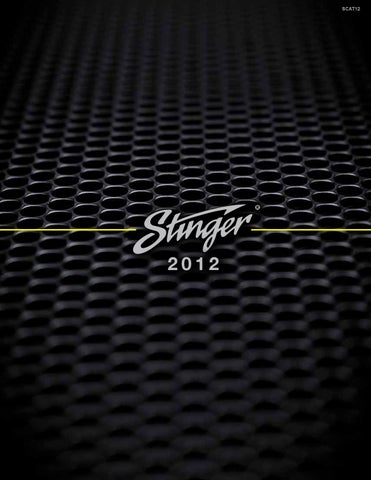 Stinger 2012 Catalog