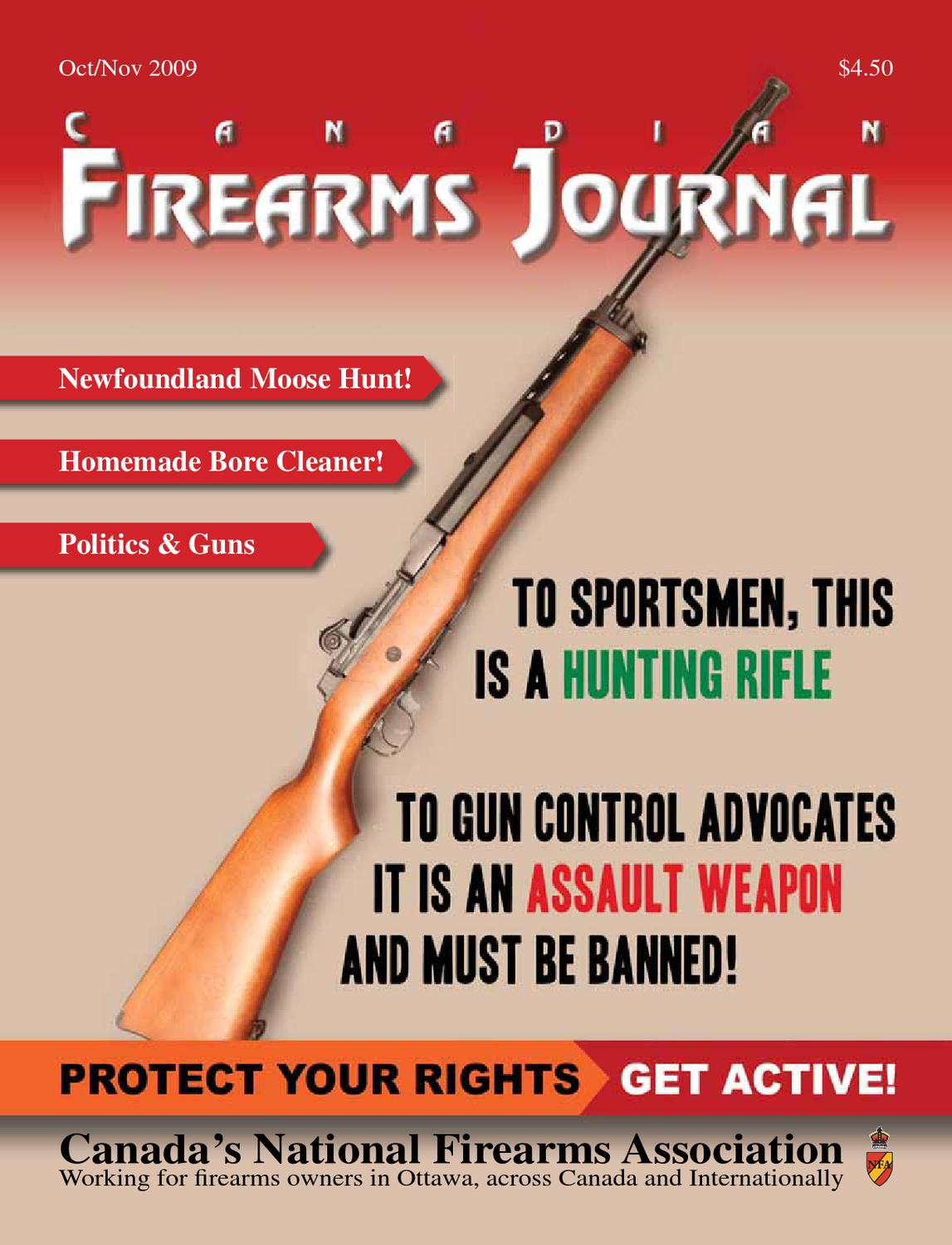 Canadian Firearms Journal - November 2009 by NAftional