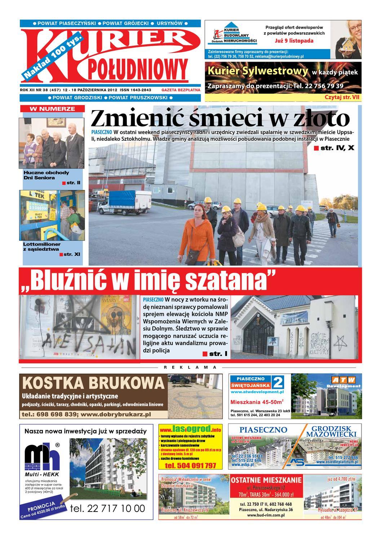 Kurier Południowy 38457 12102012 Wydanie Piaseczyńsko