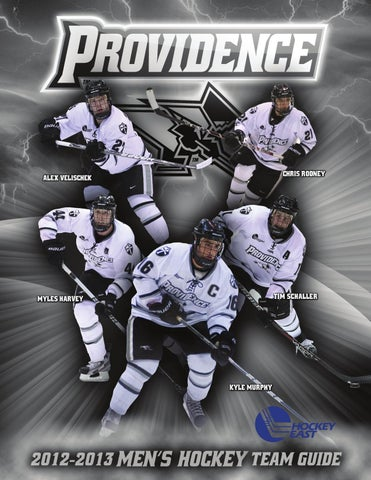 8d284df0b24 Providence Men's Ice Hockey - 2012-12 Online Guide by Providence ...