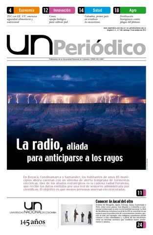 UN Periódico No. 160 by Unimedios - Universidad Nacional de Colombia ...