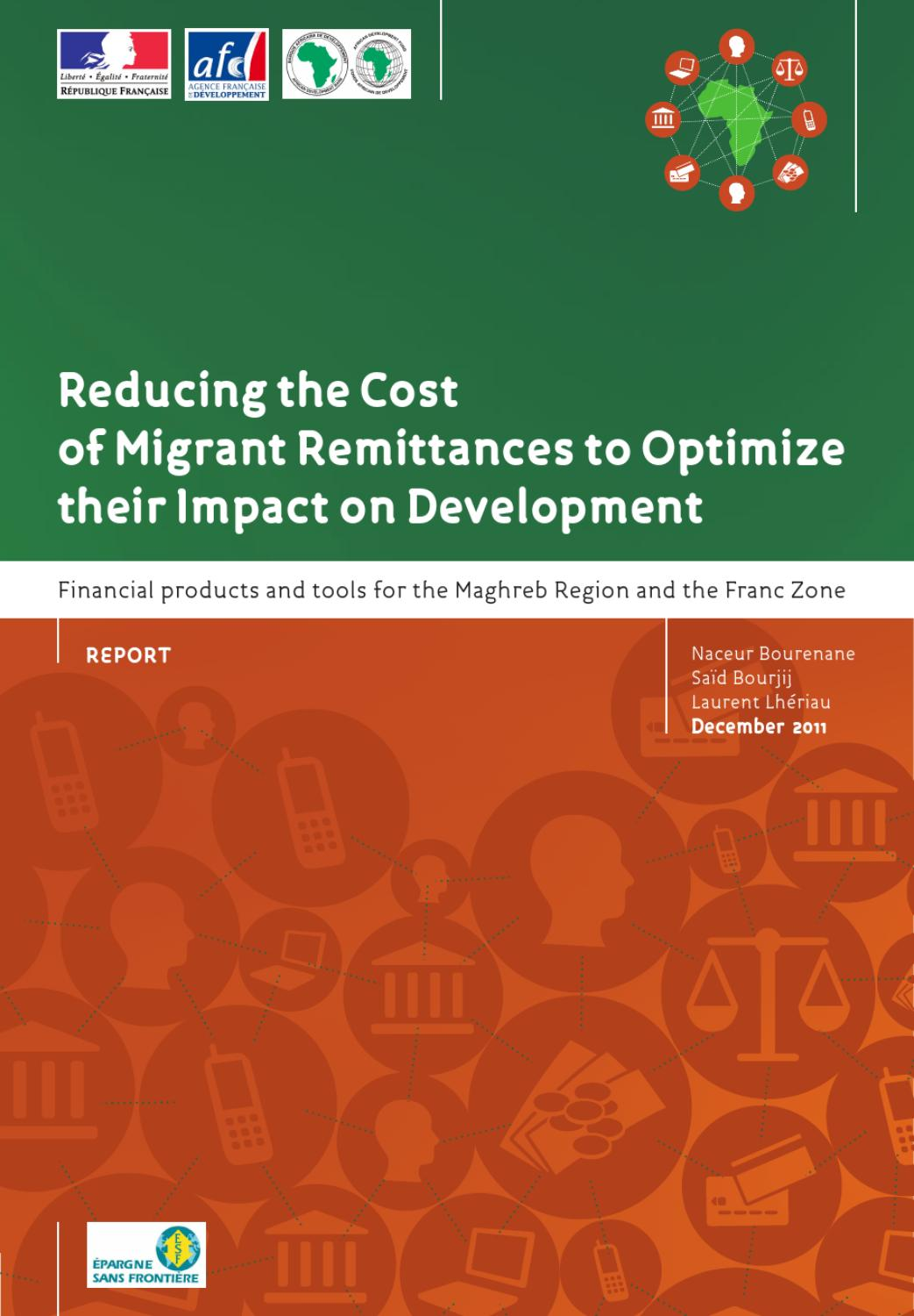 Reducing the Cost of Migrant Remittances to Optimize their