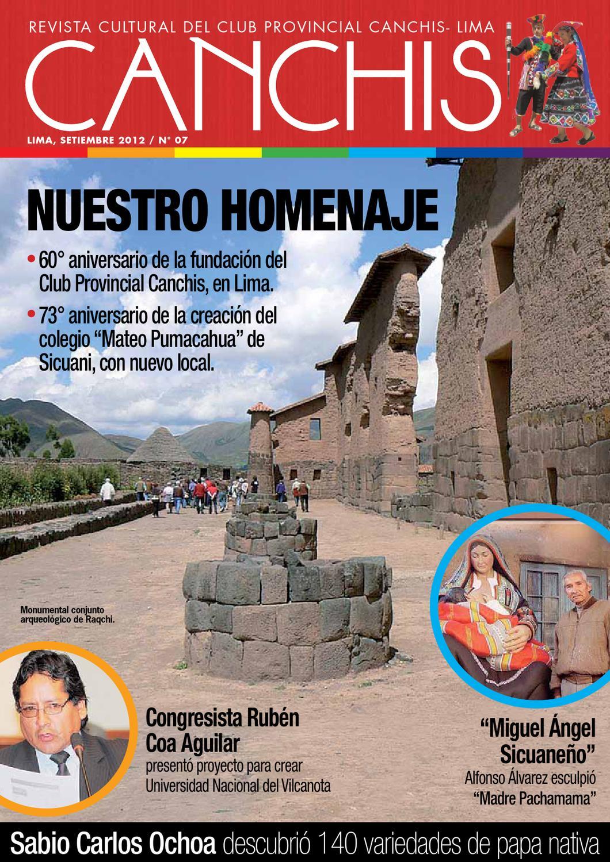 Revista cultural canchis edi 07 by karina jeaneth sotelo for Cultura para periodico mural