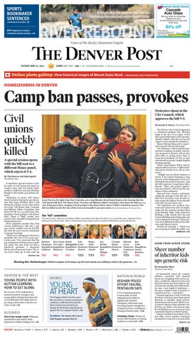 The Denver Post -- May 15 42138b7b2383a