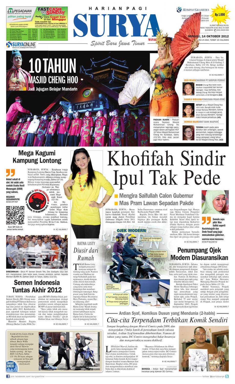 Epaper Surya 14 Oktober 2012 By Harian Issuu Timor Tahun 2000 Karpet Mobil Comfort Deluxe 12mm Car Mat Full Set