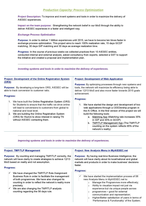 Production Capacity - Process Optimization by Filipe Forattini - issuu