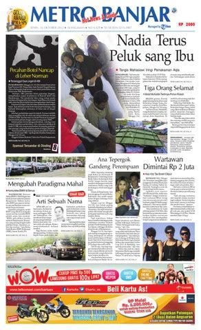 Metro Banjar edisi cetak Senin e6a22a143b