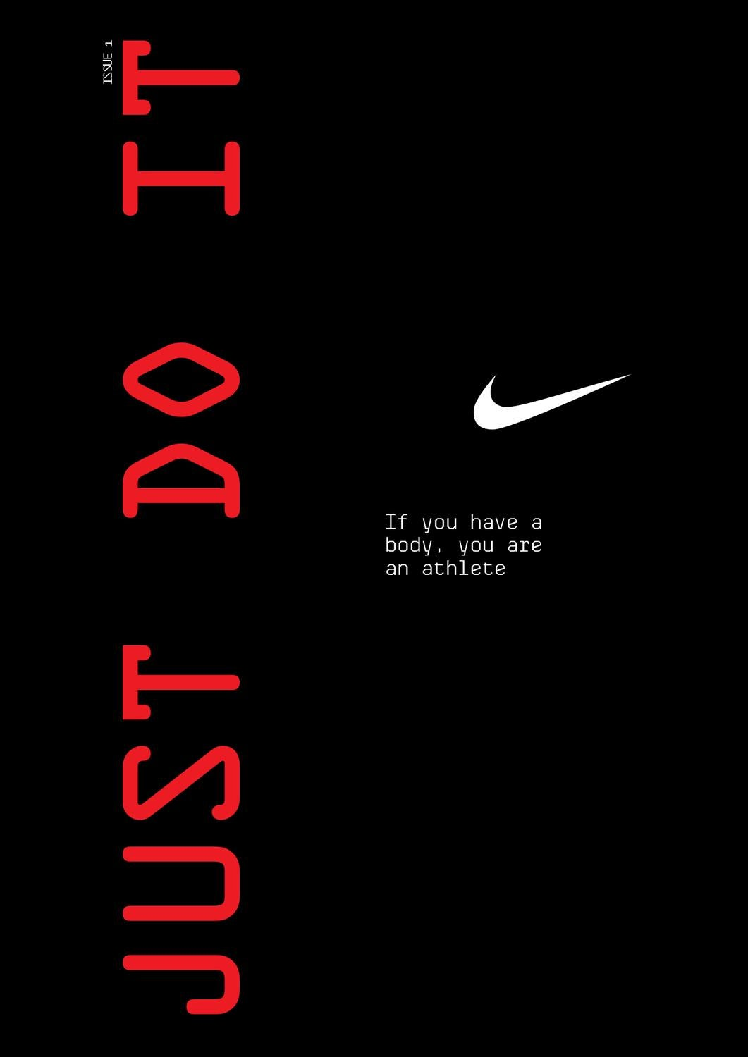detailed pictures entire collection factory authentic Nike: Just Do It by Andrea Valle - issuu