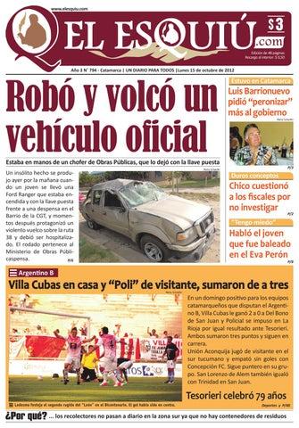 El Esquiu.com lunes 1 de octubre de 2012 by Editorial El Esquiú - issuu