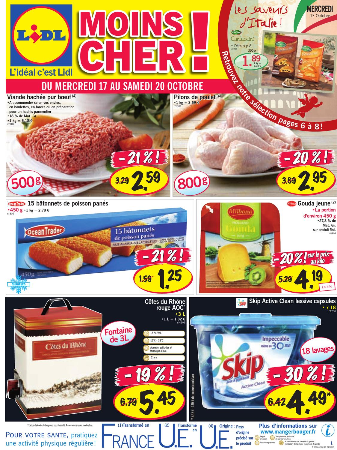 Lidl Catalogue 17 23 Octobre 2012 By Promocataloguescom Issuu