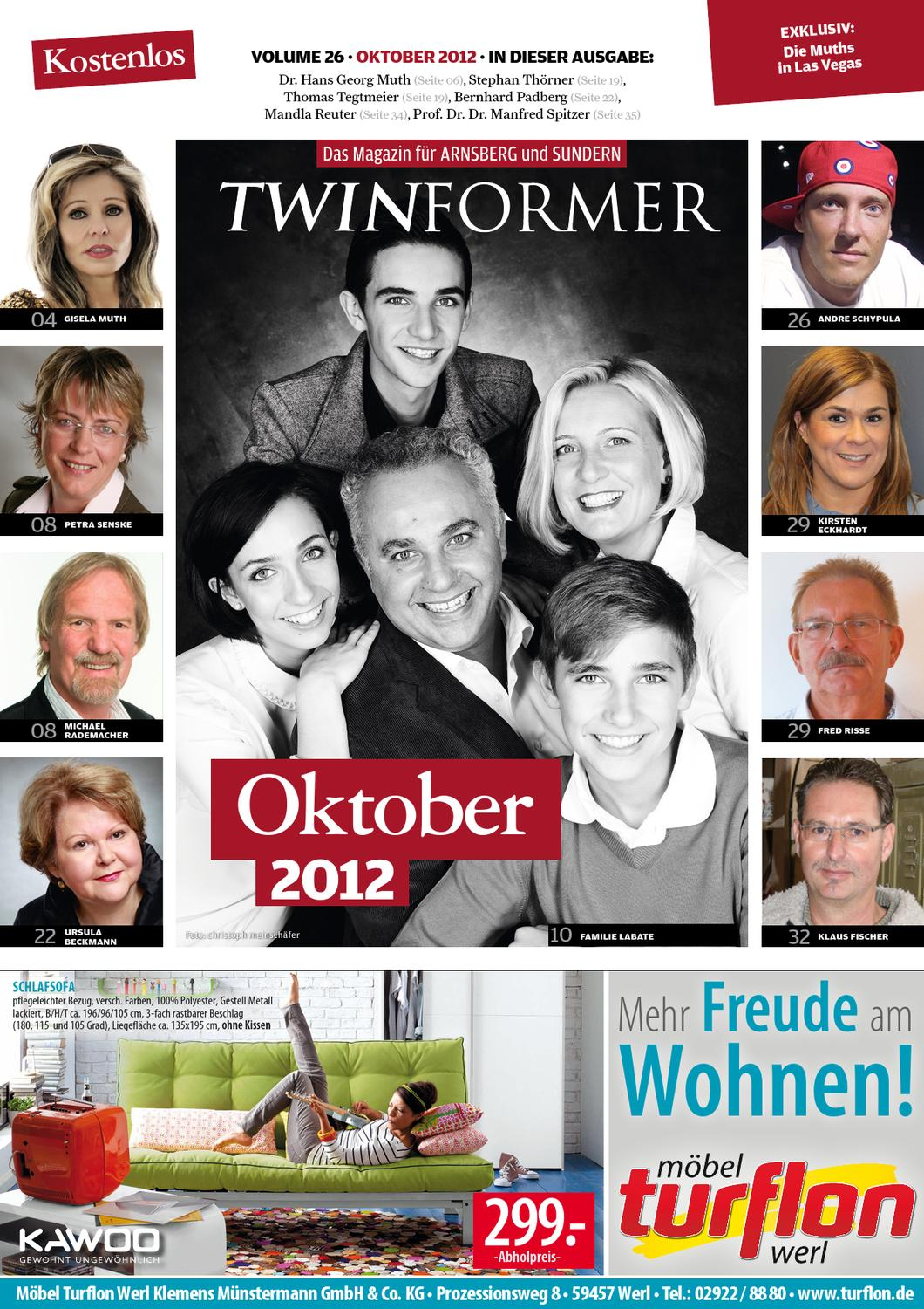 twinformer oktober 2012 by twinformer arnsberg sundern issuu. Black Bedroom Furniture Sets. Home Design Ideas