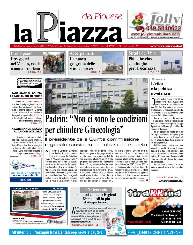 Centro Ceramica Di Sacco Lorenzo C Snc.La Piazza Del Piovese 2012sett N117 By Lapiazza Give Emotions Issuu