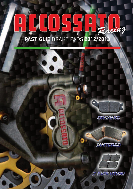 /2012/Yamaha x-city 250//& Xmax 250 Moto freno anteriore Premium Metallic Pad nero per 2008/