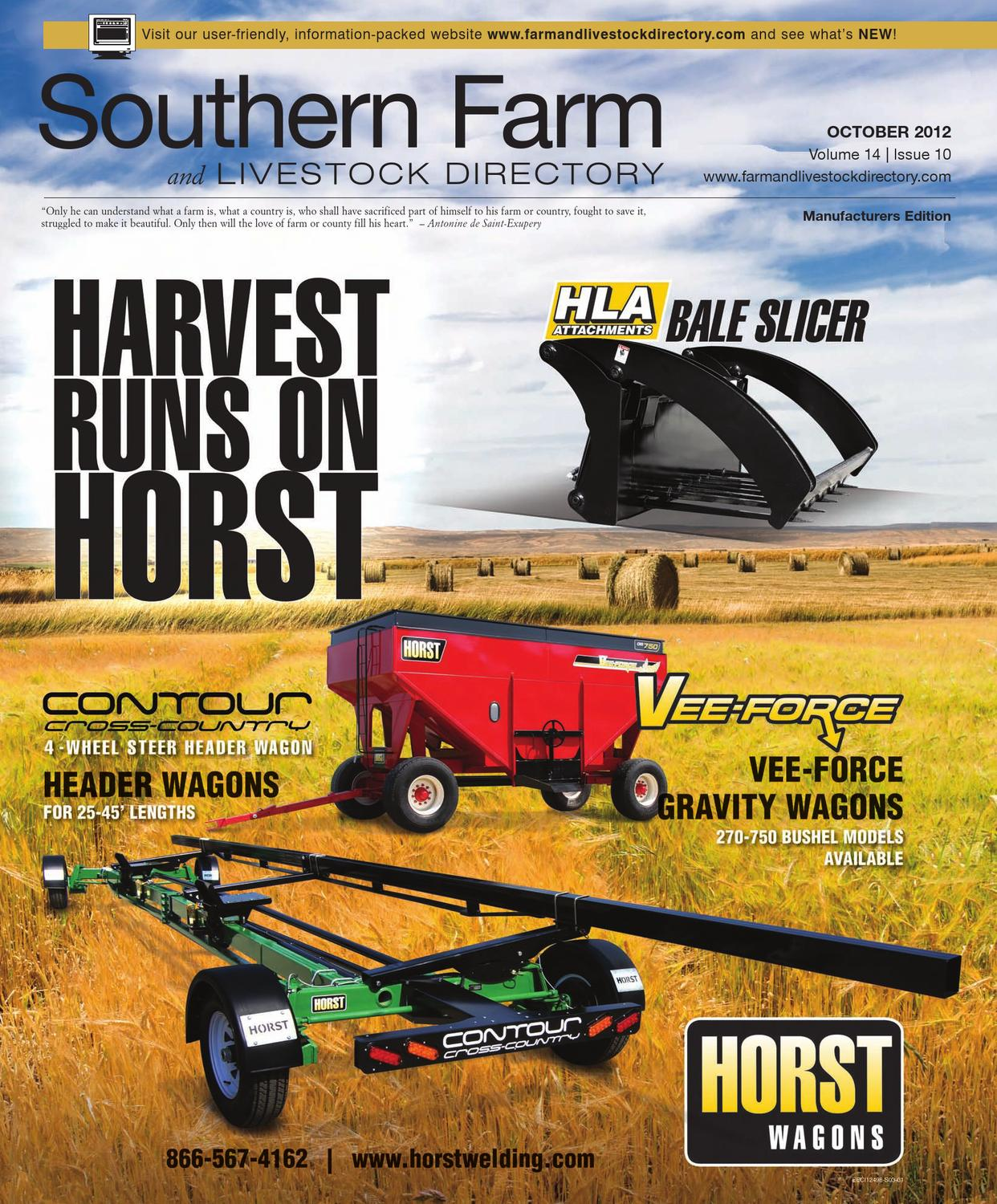 Southern Farm And Livestock Directory Oct 2012 By Five Star Co Op E3 Tractor Ignition Switch Wiring Diagram Publishing Inc Issuu