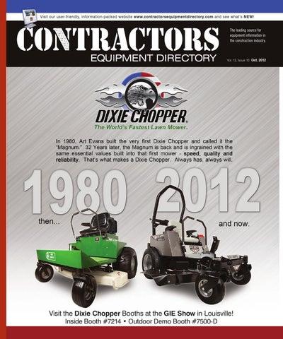 Contractors Equipment Directory   Oct  2012 by Five Star
