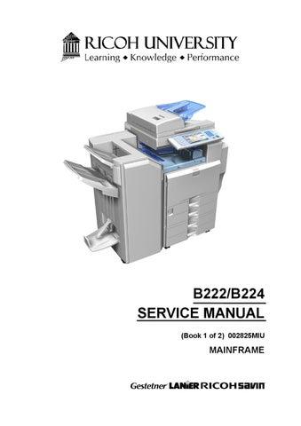 gestetner service manual