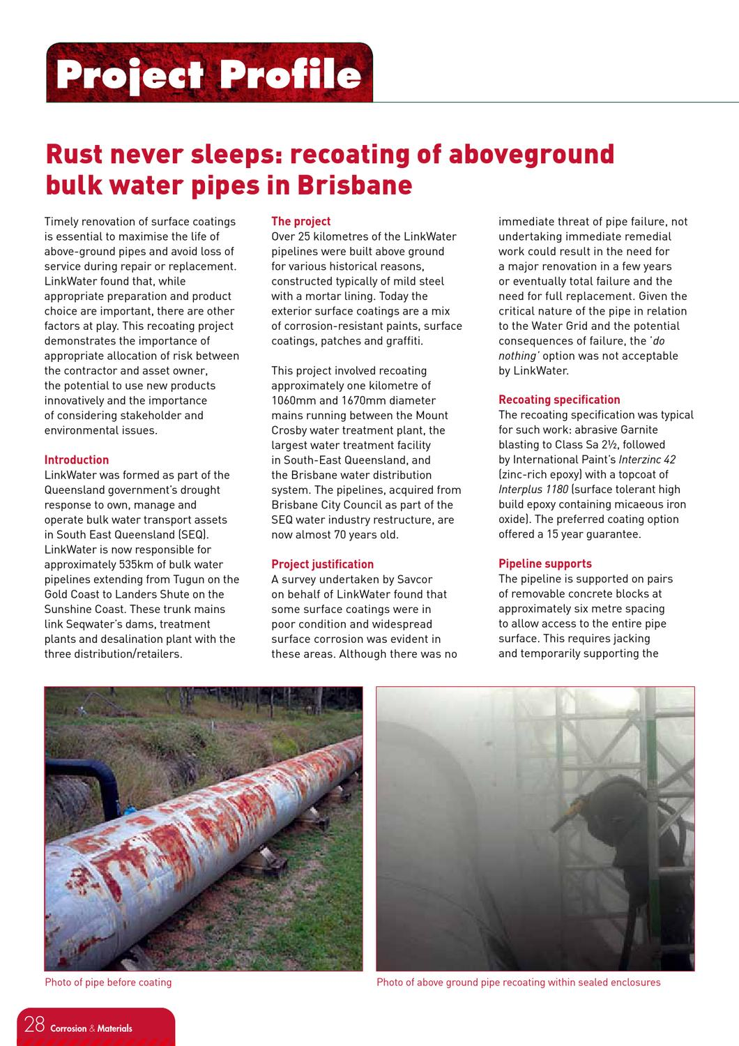 Corrosion & Materials August 2011 by Australasian Corrosion
