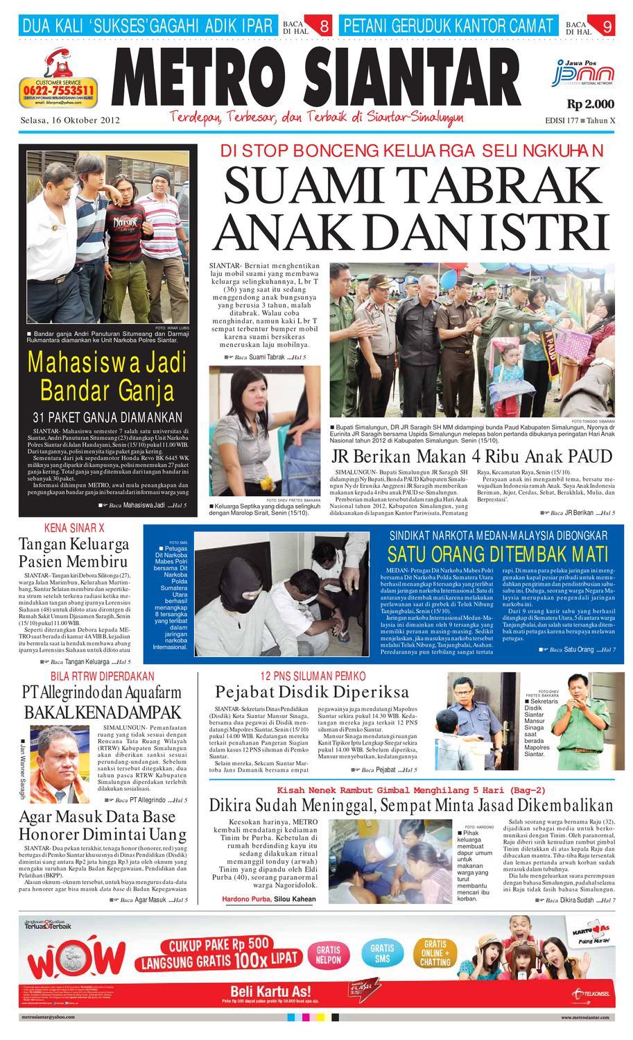 Epaper Metro Siantar By Issuu Produk Ukm Bumn Teh Hijau Celup Cap Botol 25 Tea Bags Aroma Melati Jumashop Free Ongkir Depok Ampamp Jakarta