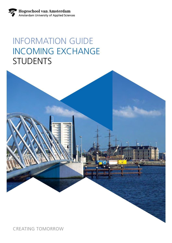Information Guide Exchange Students - Amsterdam University