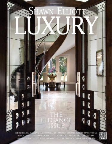 Shawn Elliott LUXURY Magazine