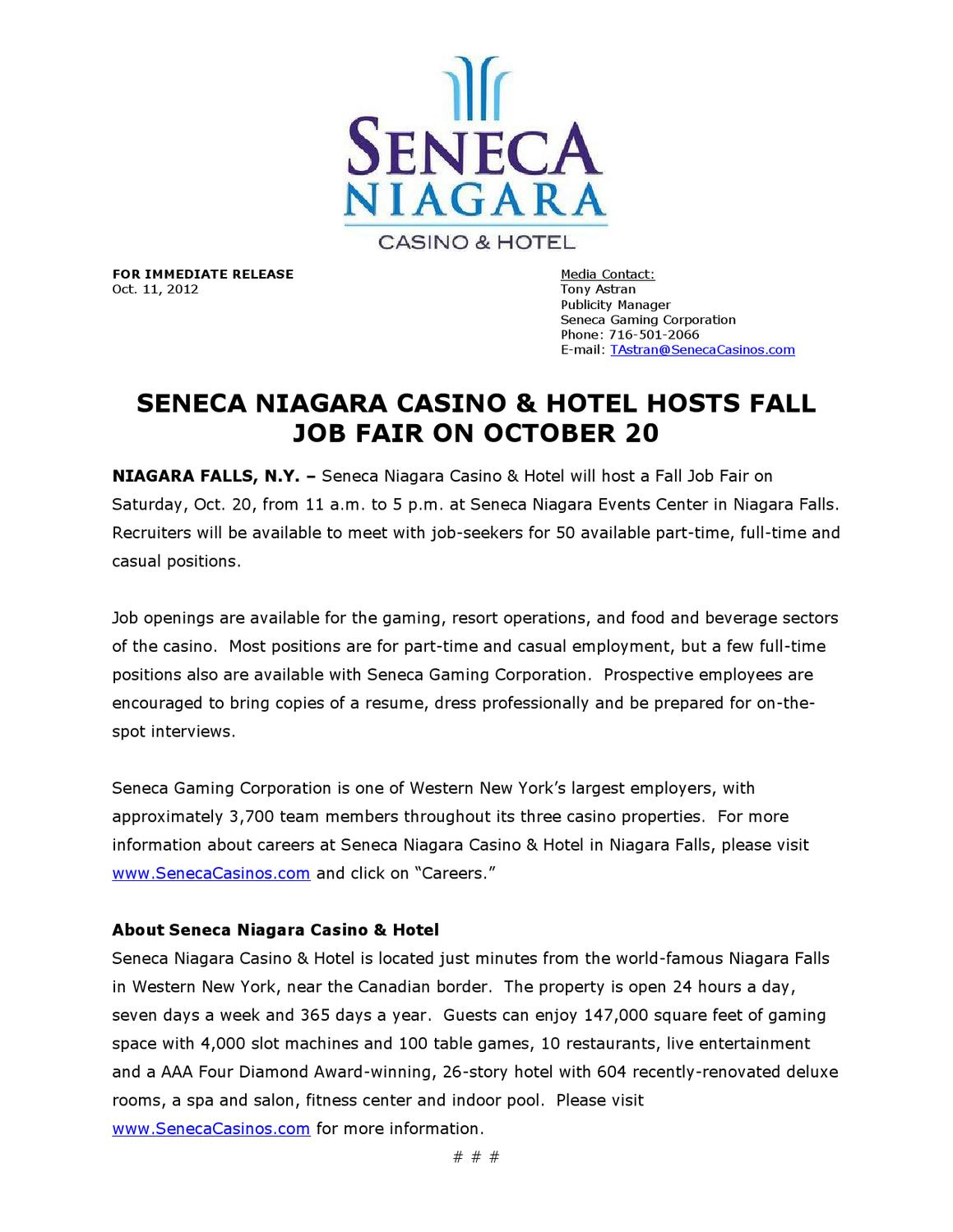 Seneca Job Fair
