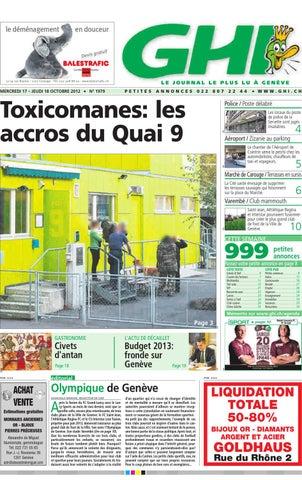 7ef33c720a GHI du 18.10.2012 by GHI & Lausanne Cités - issuu
