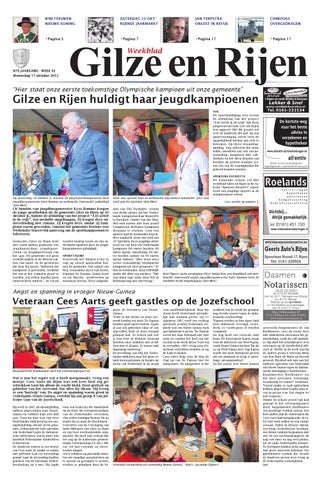 Gilze En Rijen B 17 10 2012 By Uitgeverij Em De Jong Issuu