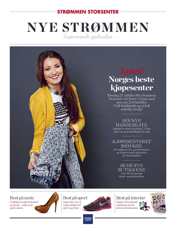 b09eb5cb Nye Strømmen Storsenter by Strømmen Storsenter - issuu
