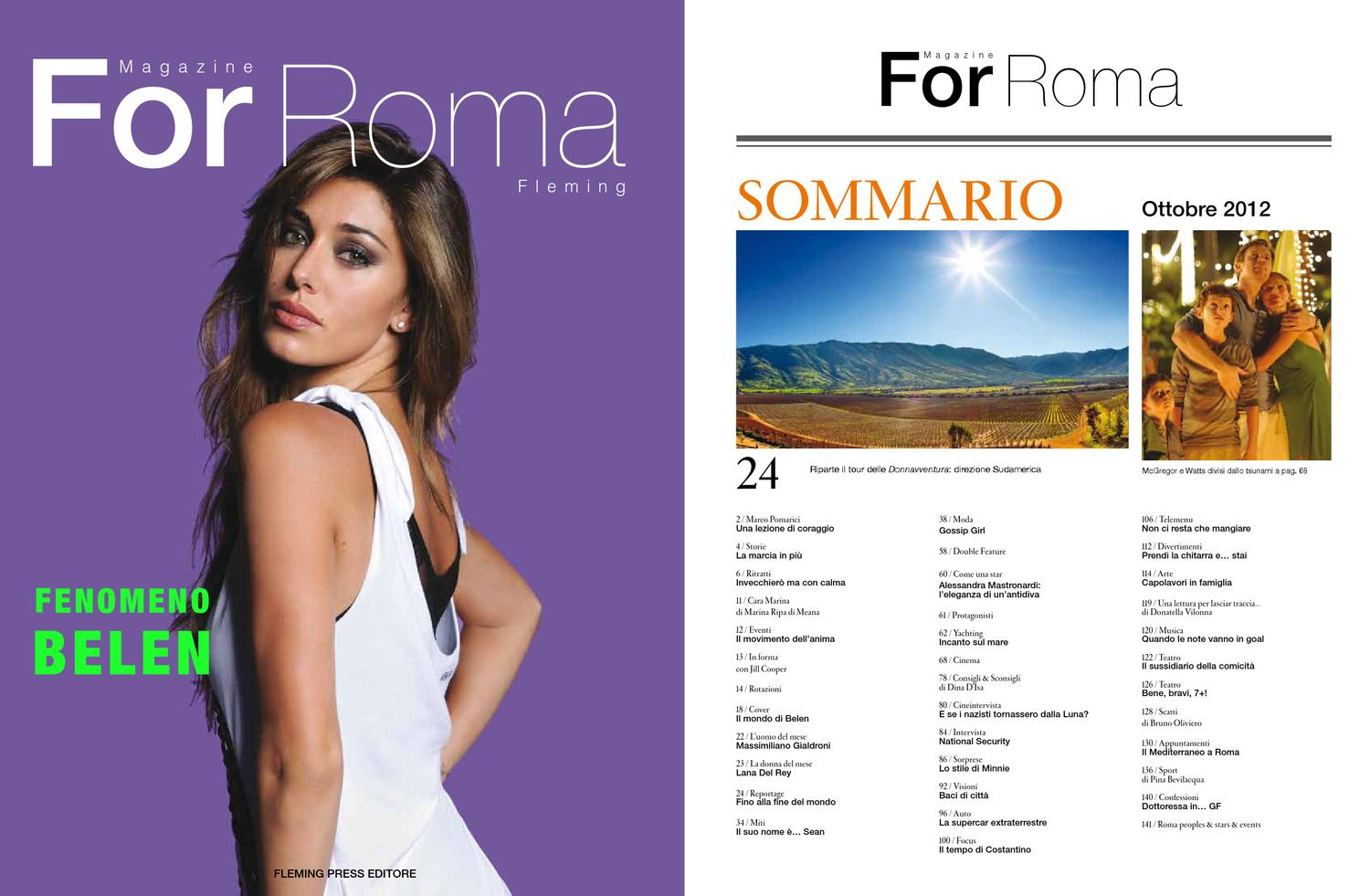 For Roma ottobre 2012 by 4mag magazine - issuu c2dce01d31a