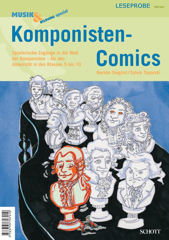 Leseprobe Komponisten-Comics by Schott Music - issuu