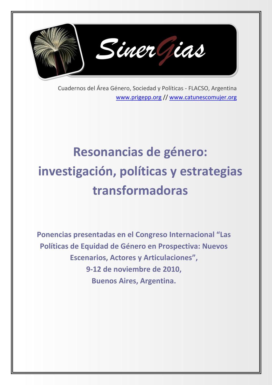 Nº1 Resonancias by Cátedra Regional Unesco Mujer Ciencia y ...