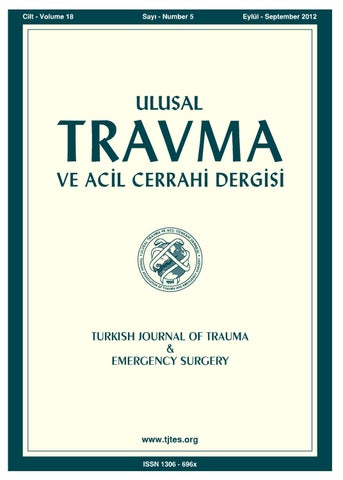 Travma 2012 5 By Karepublishing Issuu
